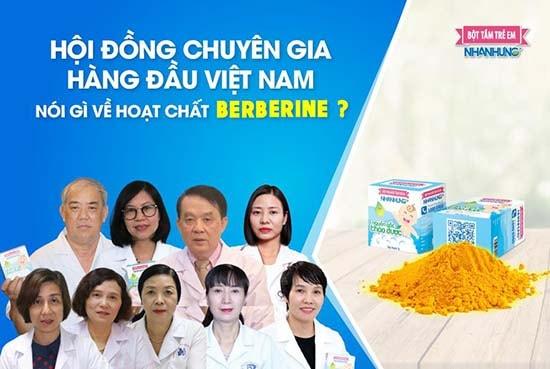 """9 chuyên gia hàng đầu Việt Nam """"đánh giá"""" tác dụng trị bệnh ngoài da của Berberine"""
