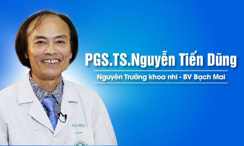 PGS.TS.BS Nguyễn Tiến Dũng: Bột tắm Nhân Hưng rất tốt cho trẻ bị chàm sữa