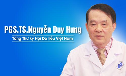 PGS.TS.Nguyễn Duy Hưng: Berberine trong Bột tắm Nhân Hưng có tác dụng điều trị bệnh ngoài da rất tốt