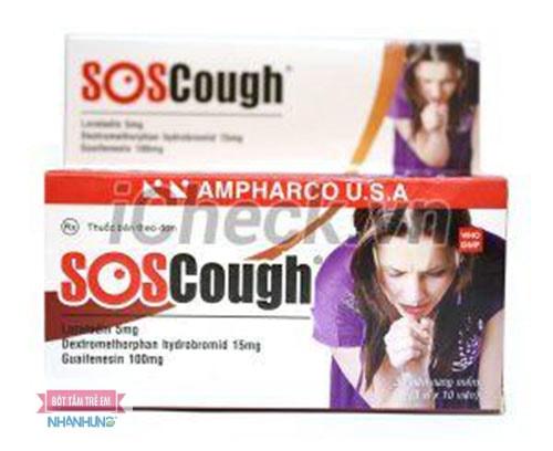 Soscough: Cộng dụng, liều dùng và tác dụng phụ